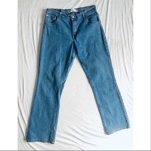 Levi 550 Relaxed Boot Cut Jeans